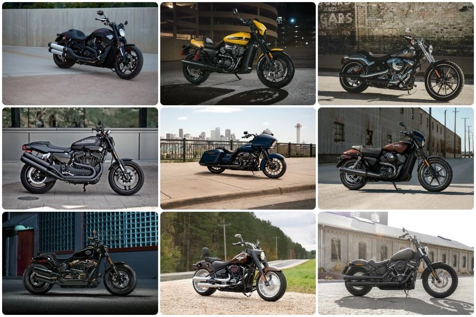 Top 10 Harley Davidson Bikes Launched In India Bikedekho