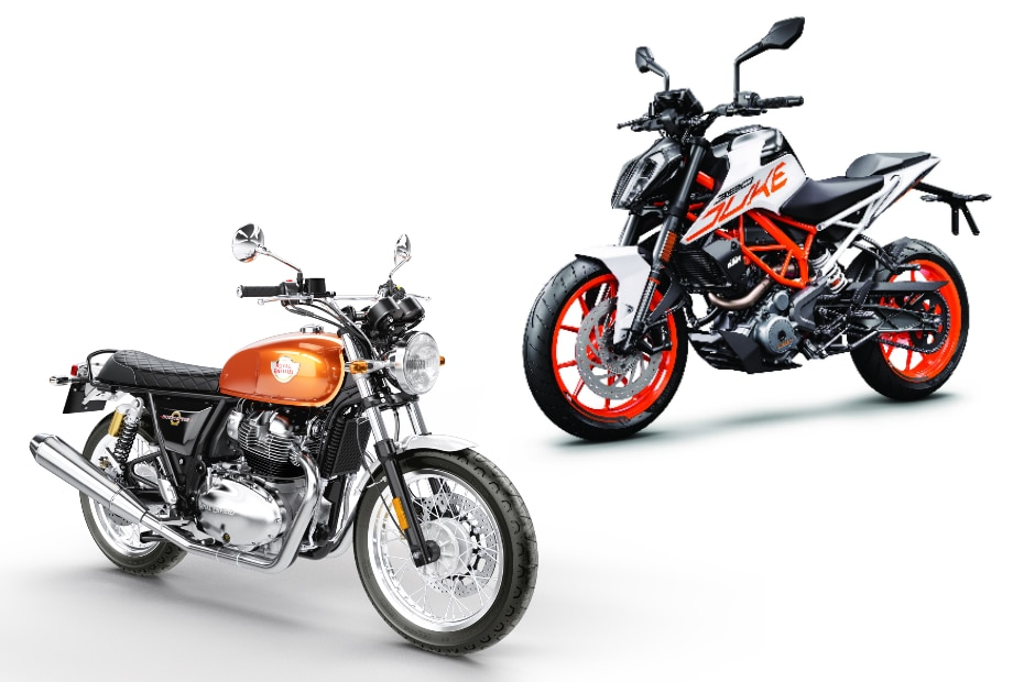 Royal Enfield Interceptor 650 Vs Ktm 390 Duke Real World