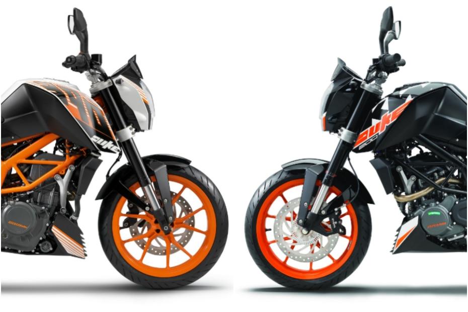 New KTM 200 Duke ABS Vs Used KTM 390 Duke: Which One To Buy | BikeDekho