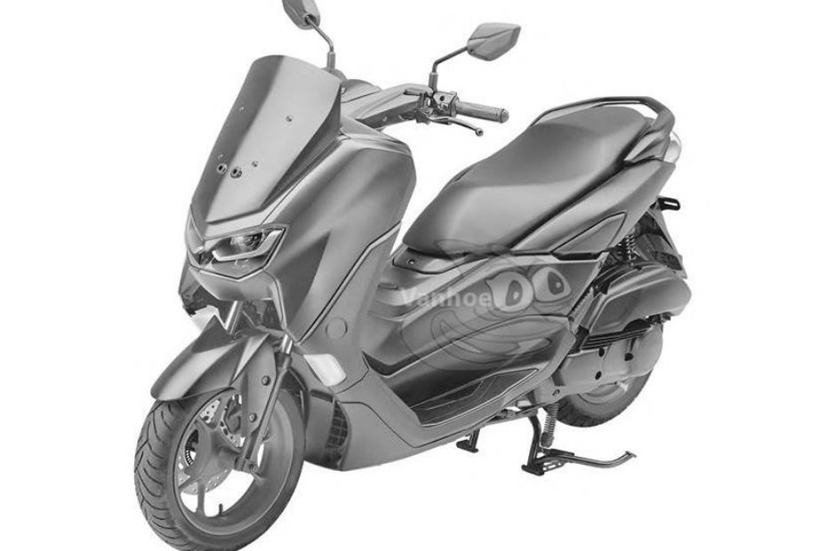 Yamaha 2019 NMax 155 Patent Images Surface Online