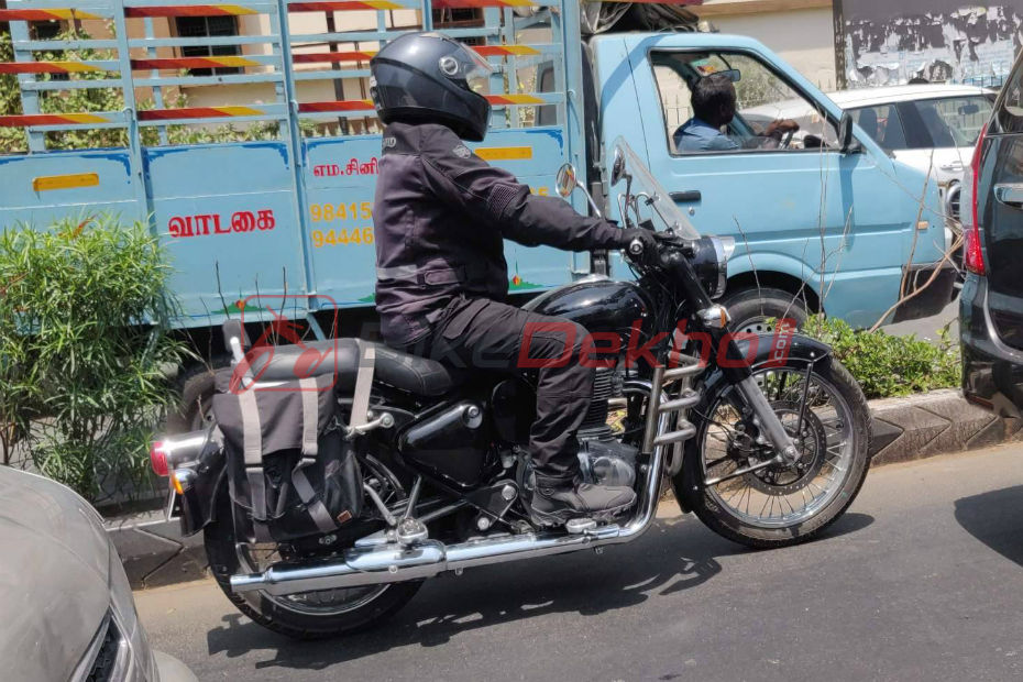 New Enfield Classic 350 Spotted Testing Again