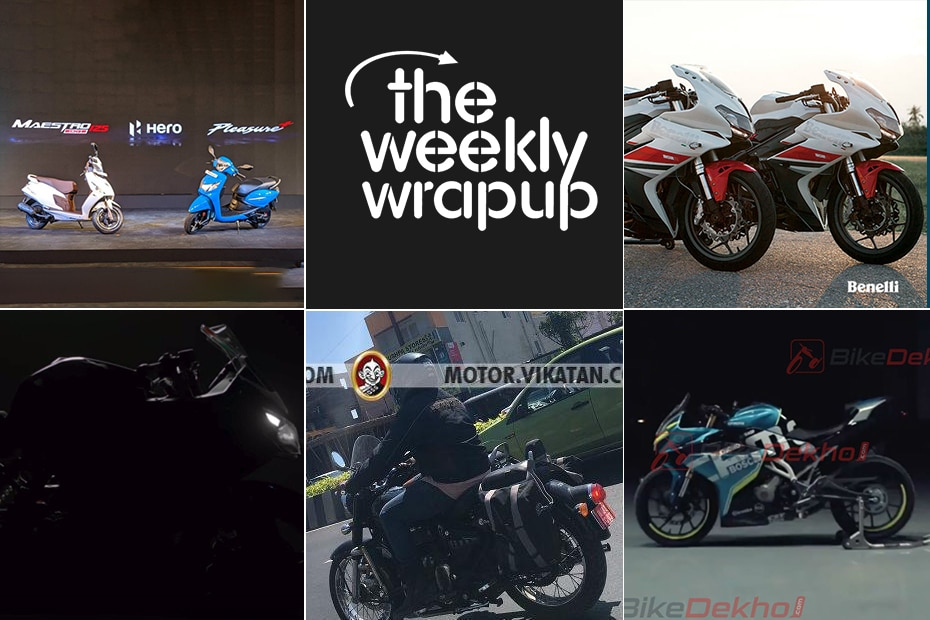 Weekly News Wrapup: Hero Maestro Edge 125 Launched, Updated TVS Apache RR 310 Teased, Benelli Motorcycles Prices Slashed And More!