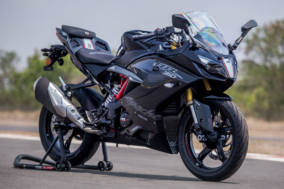 TVS Offers Zero Down Payment Scheme On Apache RR 310