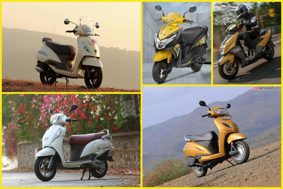 Top 5 Best Selling Scooters of May 2019: Activa, Dio, Access, Jupiter and NTorq 125
