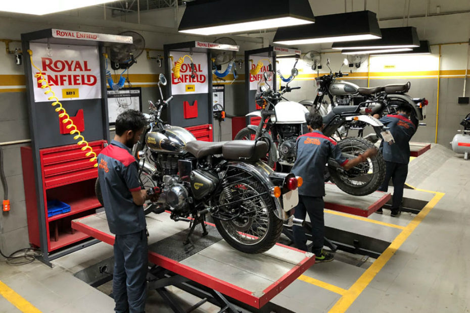 Royal Enfield Opens Service Centres In Kaza And Keylong