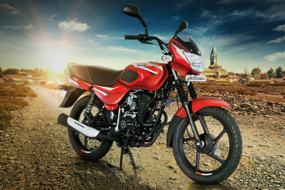 Bajaj Auto Officially Launches CT110