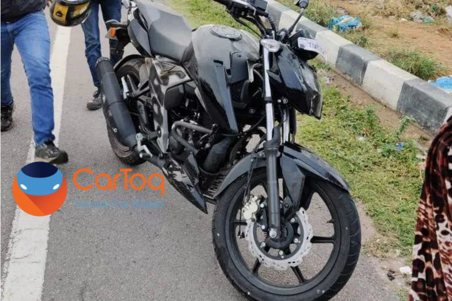 Upgraded TVS Apache 160 4V Spotted Testing
