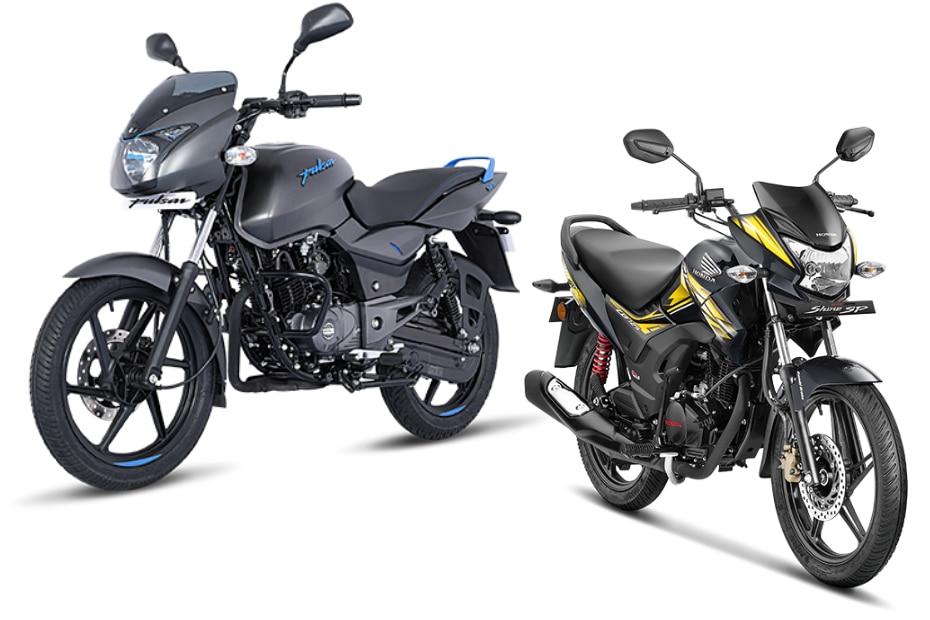 Bajaj Pulsar 125 Vs Honda Cb Shine Sp Spec Comparison