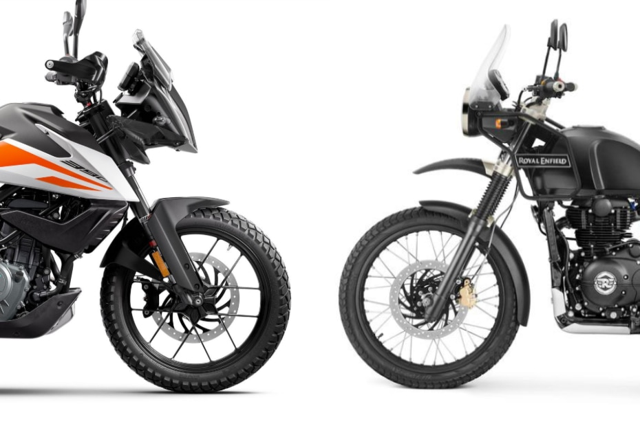 Pleasant Ktm 390 Adventure Vs Royal Enfield Himalayan Spec Cjindustries Chair Design For Home Cjindustriesco