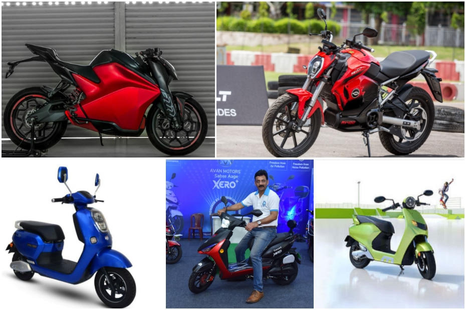 Top 5 Electric Two-wheelers Of 2019 In India