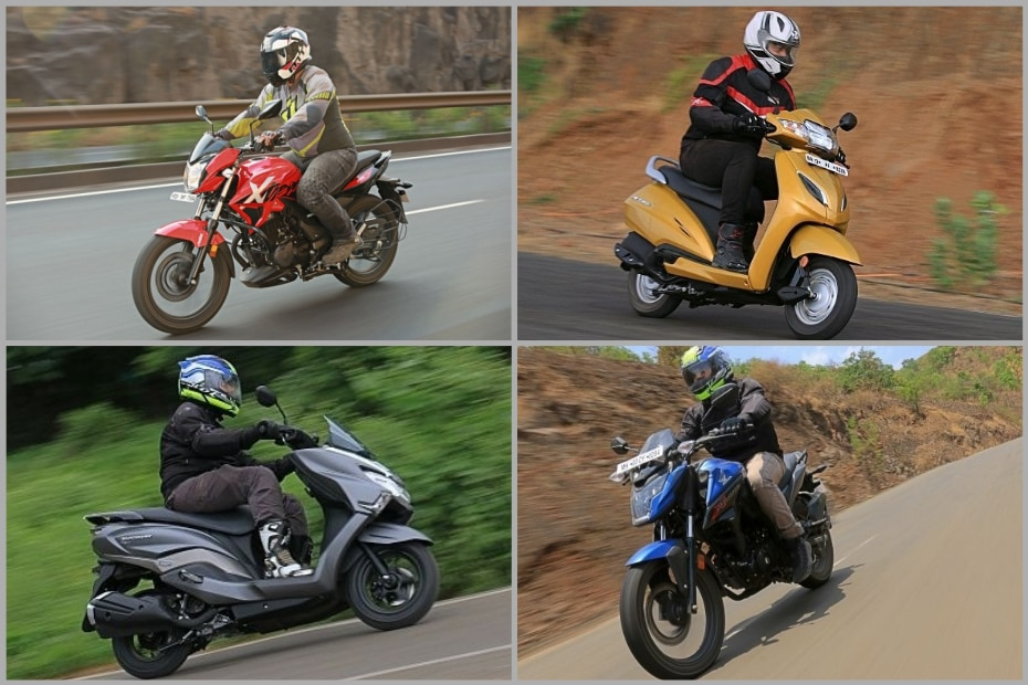 Top Mass-market Two-wheelers From 2018 Auto Expo