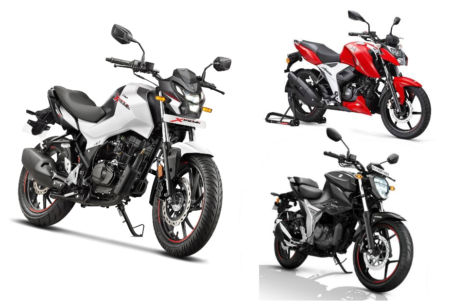 Hero Xtreme 160R vs Suzuki Gixxer BS6 vs TVS Apache RTR 160 4V BS6: Spec Comparo