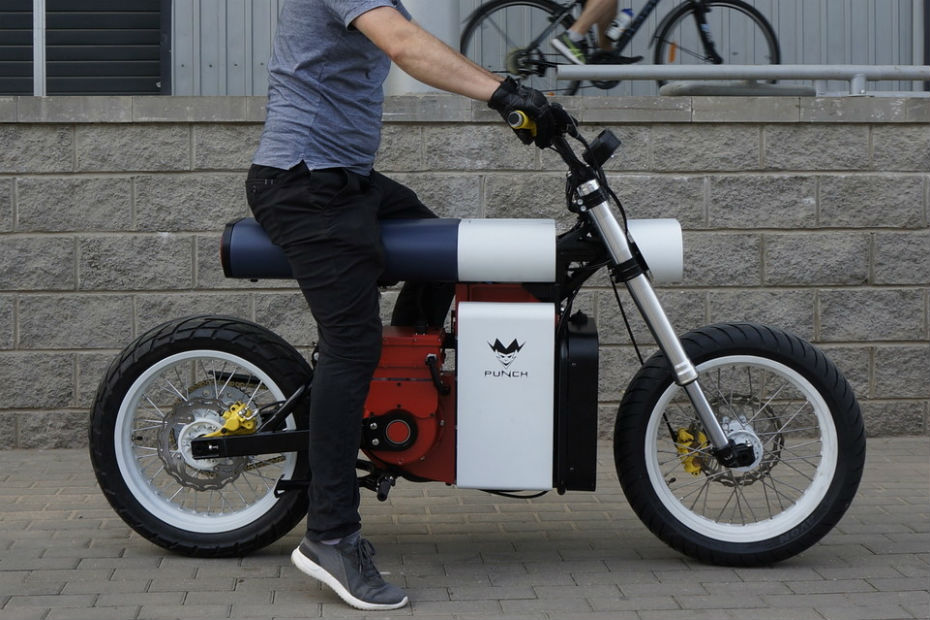 This Russian Electric Bike Looks Straight From The World Of Legos