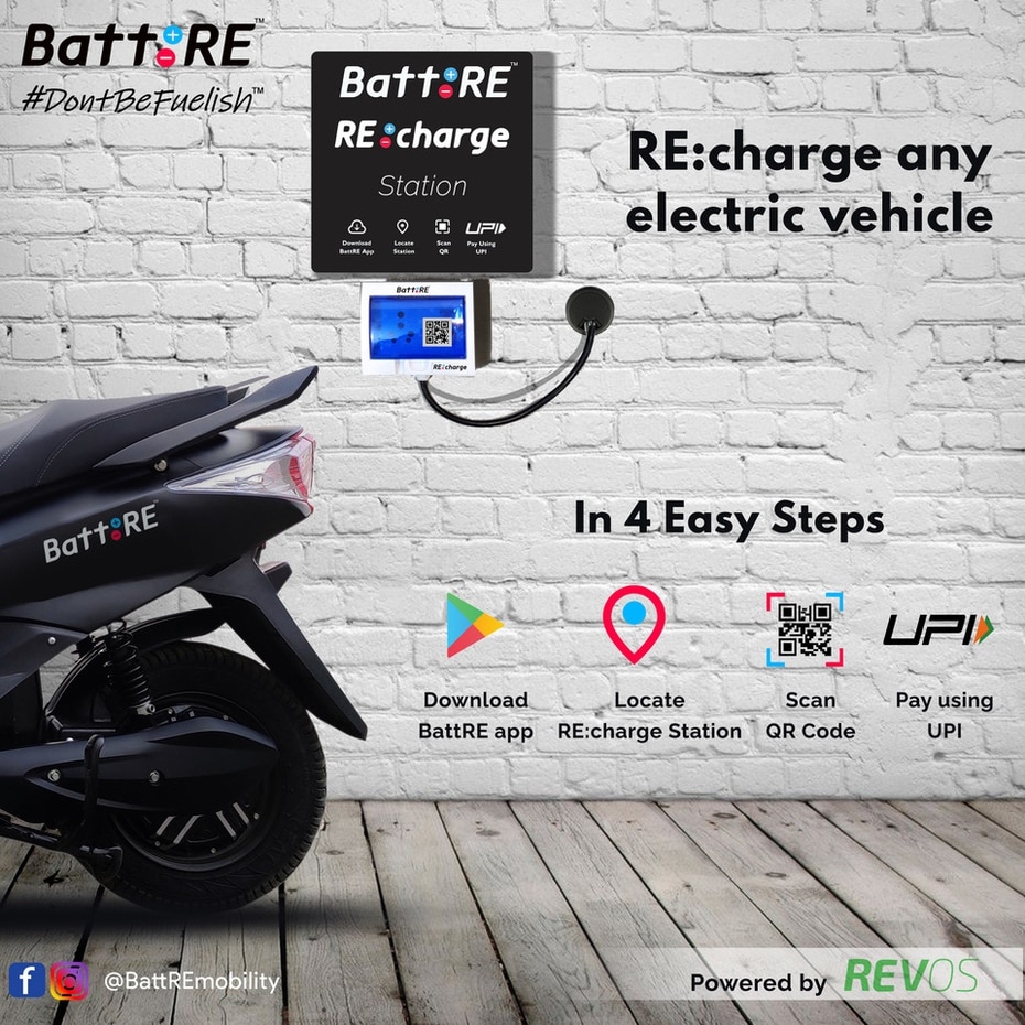 BattRE Launches India's First Low-cost E-charging Solution
