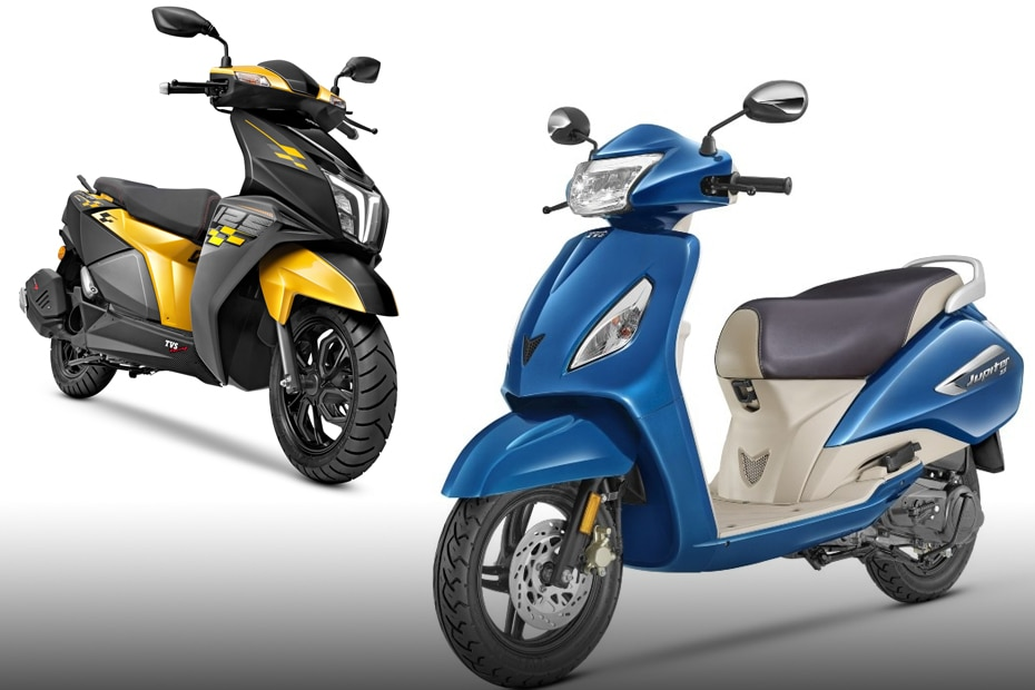 TVS Jupiter, Scooty Pep Plus, Scooty Zest And NTorq BS6 Price Hiked