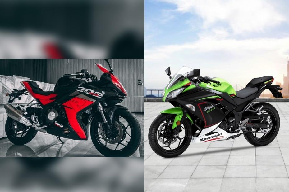 2021 Benelli 302R vs Kawasaki Ninja 300: Photo Comparison