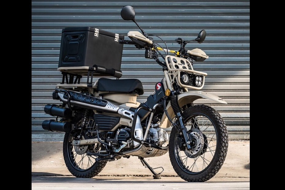This Honda CT125 Moped Can Take On The Post-apocalyptic World
