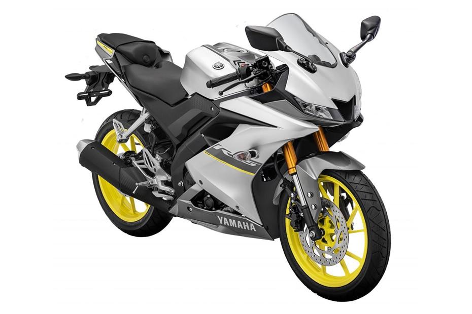 2021 Yamaha YZF-R15 V3 Gets A New Silver Colour