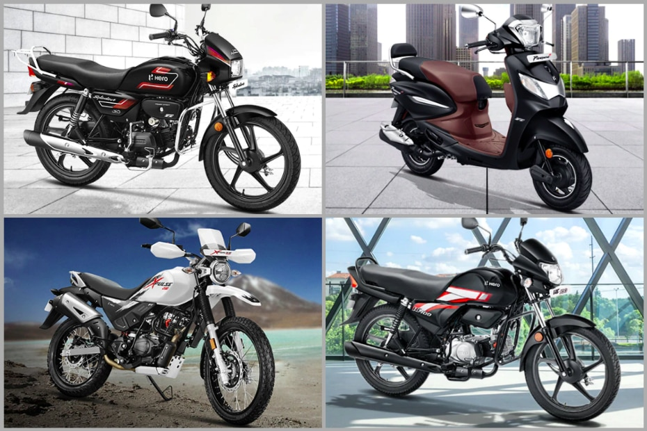 Best-selling Hero Bikes and Scooters In March 2021: Hero Splendor, HF Deluxe, Destini 125 And More