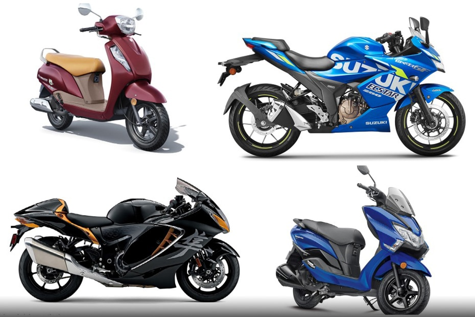 Suzuki Bikes And Scooters Price List For May 2021: Access 125, Burgman, Gixxer And More!