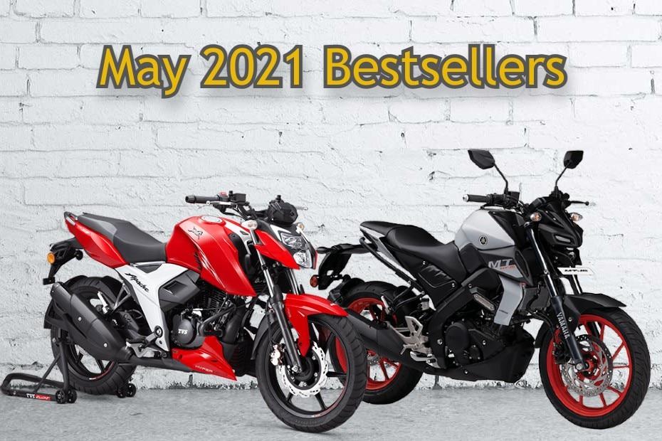 Top 5 Bestselling 150cc-200cc Motorcycles In May 2021: TVS Apache, Bajaj Pulsar 150, Yamaha R15 And More