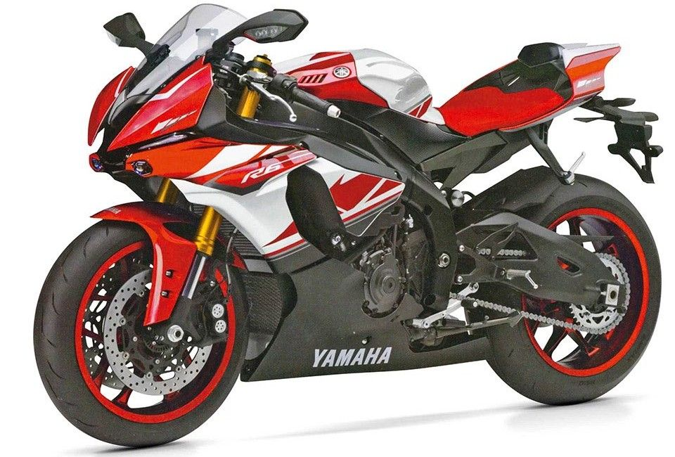 2017 Yamaha YZF-R6 First Picture Leaked