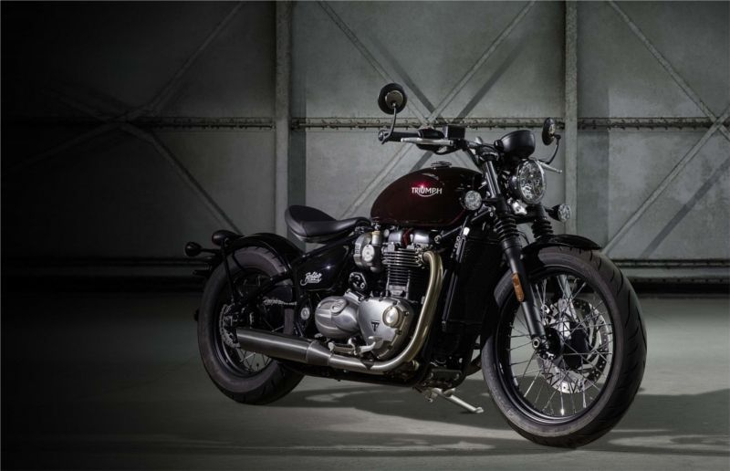 Triumph Bonneville Bobber Unveiled; Might Come To India Soon