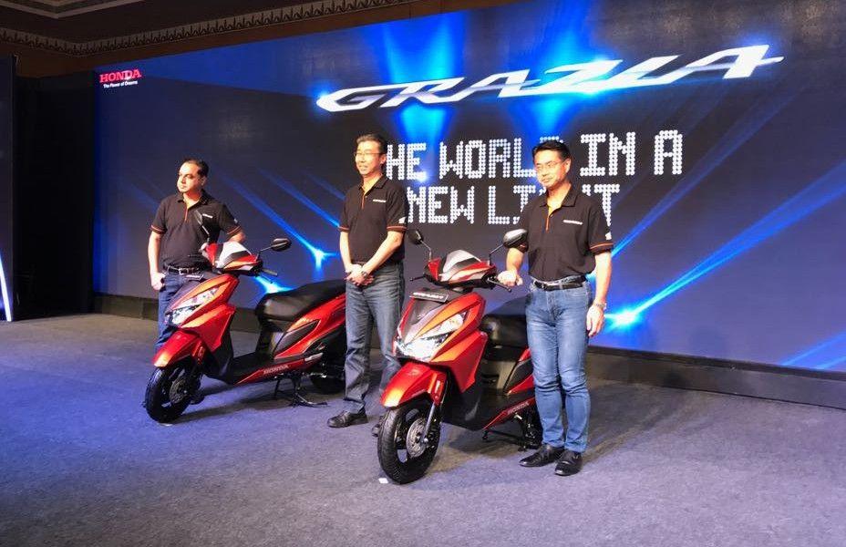 Honda Launches Grazia Scooter At Rs 57,897 (ex, Delhi)