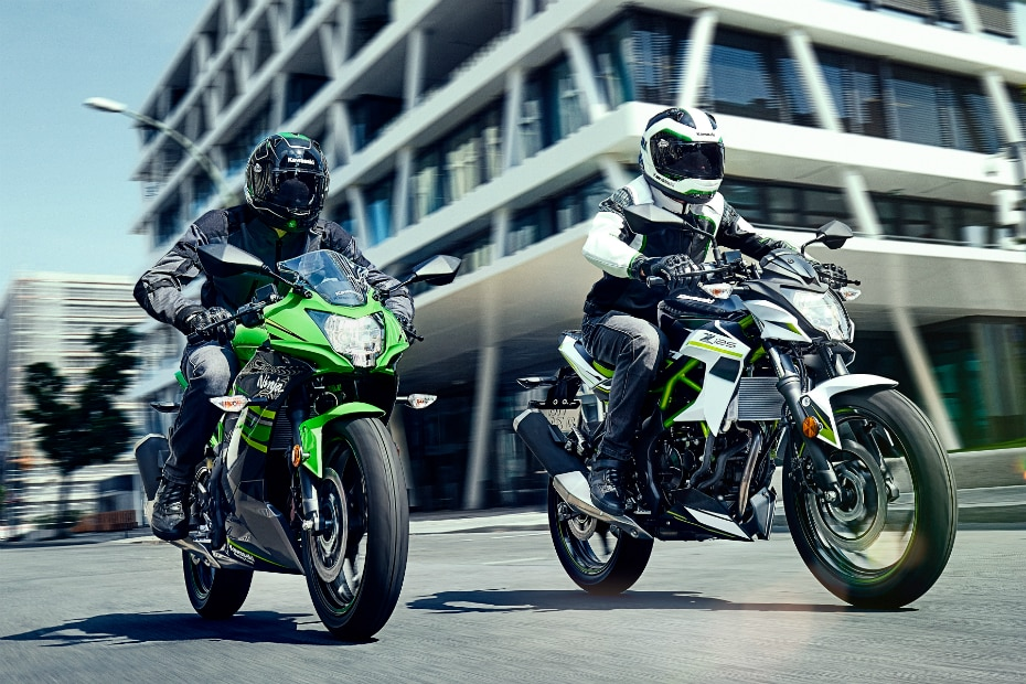 Kawasaki Ninja 125 And Z125 To Be Unveiled At Intermot 2018 Bikedekho