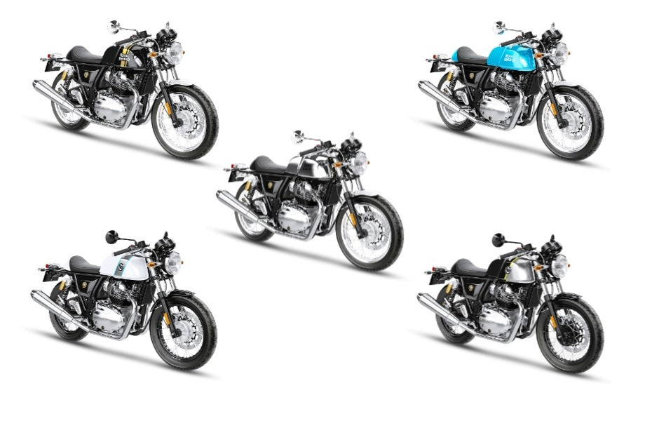 Best Colour Options For Royal Enfield Continental Gt 650 Bikedekho
