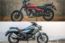 Bajaj Avenger Street 160 vs Suzuki Intruder 150: Specification Comparison