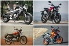 CFMoto 300NK vs KTM 390 Duke vs Honda CB300R vs Royal Enfield Interceptor 650: Specifications Compared