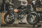 Zeus Custom Works Its Magic With This One Of a Kind Yamaha XSR155 Custom Cafe Racer