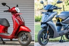 Bajaj Chetak Vs Ather 450X: Image Comparison