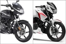 Bajaj Pulsar 150 BS6 vs TVS Apache RTR 160 2V BS6: Spec Comparison