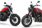 Honda Rebel 500 vs Benelli Leoncino 500: Spec Comparison