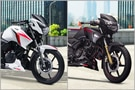 TVS Apache RTR 160 2V And Apache RTR 180 Prices Hiked