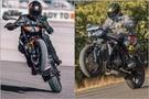 KTM 890 Duke vs Triumph Street Triple R Comparison: Photo Gallery
