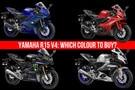 Yamaha R15 V4: Colours Explained
