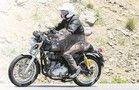 2017 Royal Enfield Continental GT spied