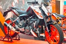 2018 KTM 200 Duke With Side-Mounted Exhaust Showcased At IIMS