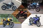 Top 5 Performance Motorcycles Under Rs 2 Lakh: Real-World Performance Test