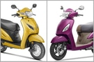 Honda Activa 5G vs TVS Jupiter ZX Disc: Spec Comparo