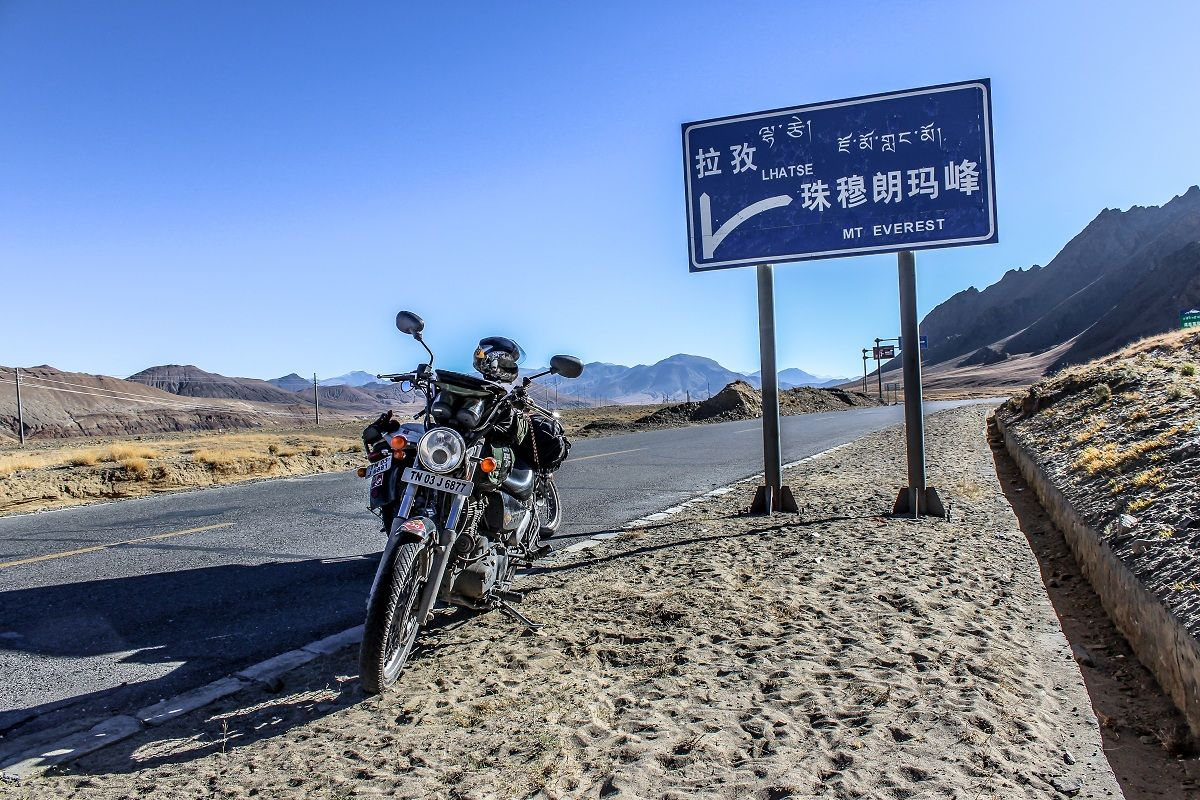 2013 Royal Enfield Tour of Tibet : India to Nepal to Tibet on the Thunderbird 500