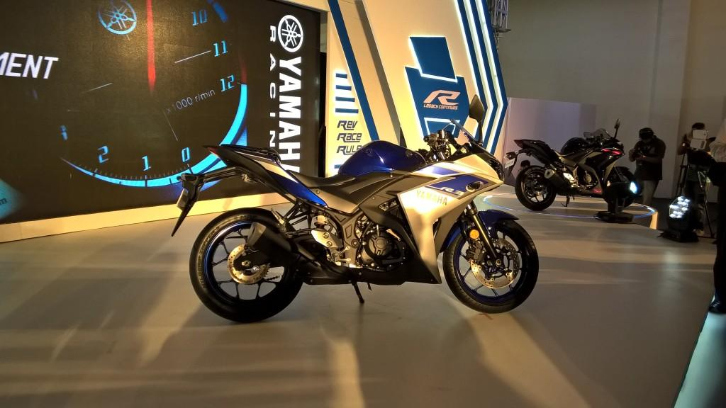 Yamaha YZF-R3 Launch & Ride: Amidst Glamor and some harmless Chaos
