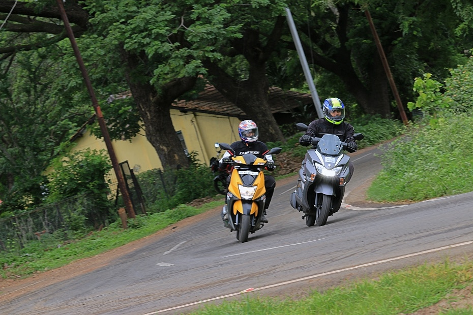 TVS Ntorq vs Suzuki Burgman Street: Comparison Review