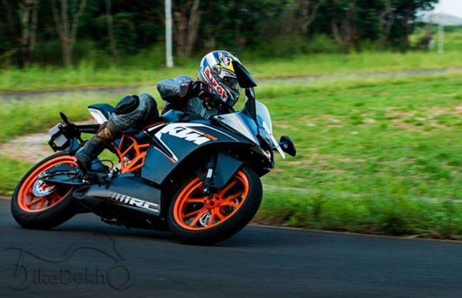 KTM RC200 & KTM RC390 : First Ride Review