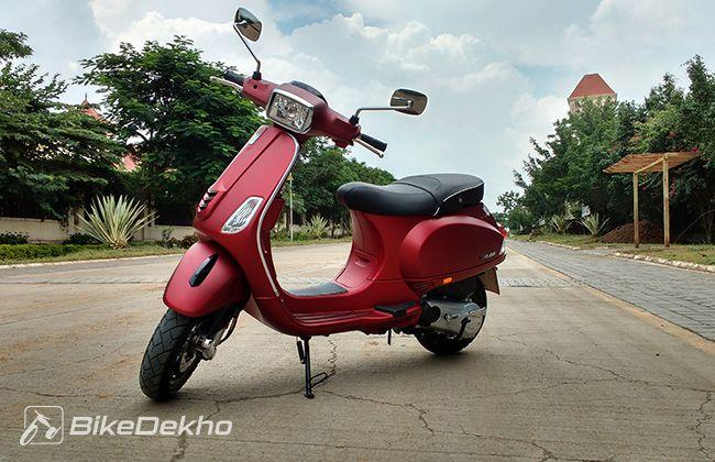 The new Vespa 150cc scooter - The SXL First Ride