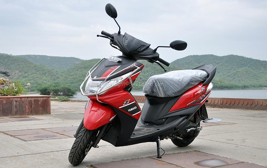 Yamaha Ray Z Road Test Review- 'The New Boy in Town'