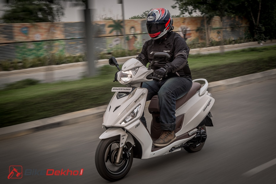 2019 Hero Maestro Edge 125: First Ride Review